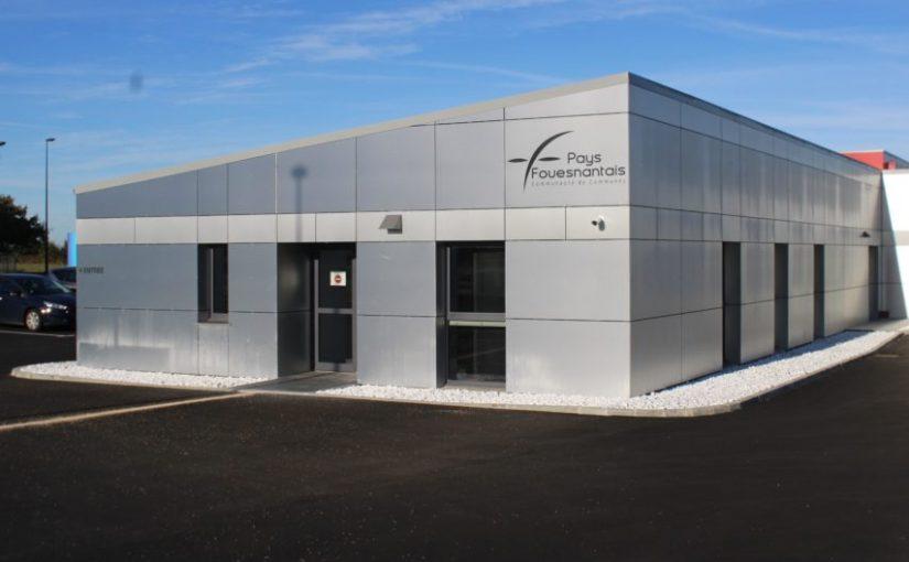 Nouvel espace entreprises à Saint-Évarzec